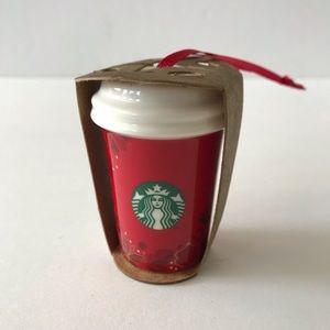New Starbucks Christmas Tree Ornament 2013